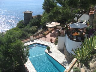 Villa Transatlantique  en première ligne de mer,  nommé Villa Esmeralda