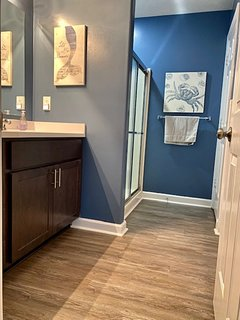Master Bath with Jetted Tub and Shower!
