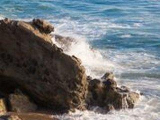 Spiaggia a destra del noleggio