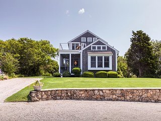 Water-View Gem w/ Private Suites & Upper Deck - Steps to Cape Cod Bay