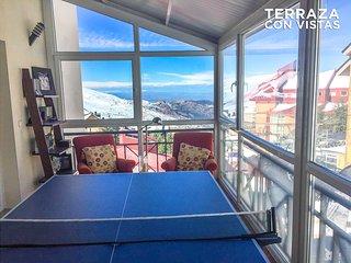 Alquiler Lujo Sierra Nevada / Lujoso apartamento con garaje a pie del telesilla.