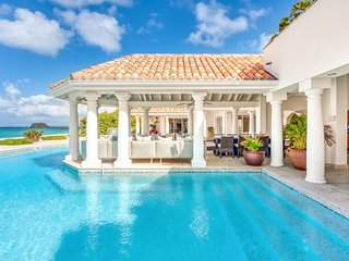 Villa Petite Plage 5 | Beach Front - Located in Wonderful Grand Case with Priv