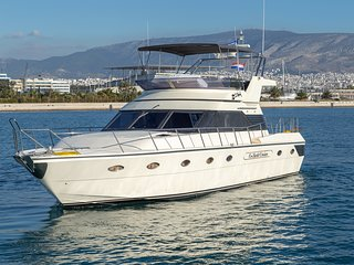 Motorboat rent Barberis 53 in Marina Delta Kallithea, Athens (2001, refit 2020)