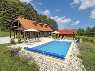Awesome home in Donja Stubica w/ WiFi and 3 Bedrooms (CCC244)