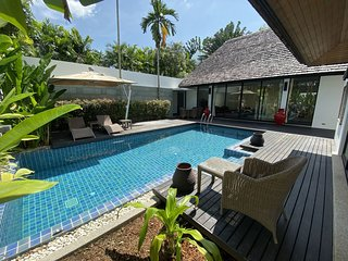 Private Pool Villa Near to Layan Beach, Set In Lush Tropical Garden