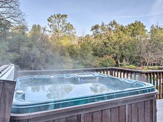 NEW! 'Gold Country' Home w/Pool, Hot Tub & Firepit
