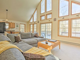NEW! Pocono Bliss, 13 Mi to Jack Frost Ski Resort!