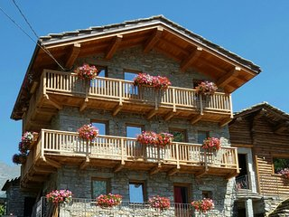 Nice chalet with terrace & balcony