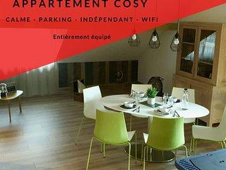 Appartement cosy, capacité de 4 personnes au coeur des Vosges