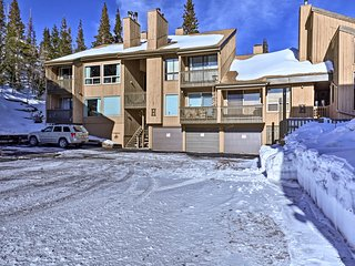 NEW! Brian Head Condo w/ Deck - Walk to Ski Lift
