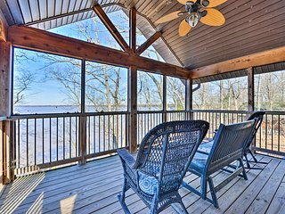 NEW! Family-Friendly Lakefront Home w/Private Dock