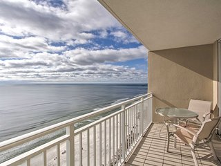 Gulf-Front Family Condo in Emerald Beach Resort!