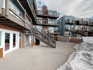 Newly renovated, lakefront condo on ground level steps away from Lake Dillon