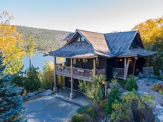 Acadia Lodge -- Secluded  Custom Design Retreat by Acadia National Park