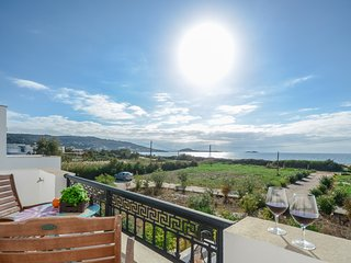 Depis beachfront villas plaka naxos Standard apartment with sea view