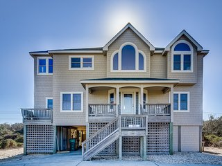 Sandy Pants | 450 ft from the beach | Private Pool, Hot Tub, Dog Friendly | Duck