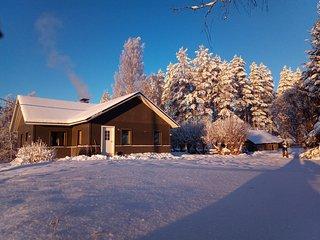 A Wilderness Cottage in Kourukoski