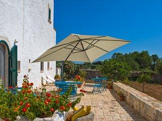 Masseria del Poeta con veranda e vista panoramica
