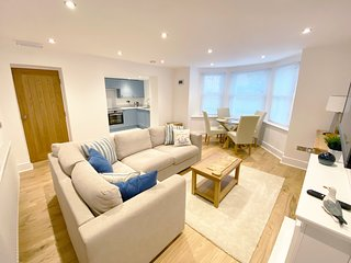 Luxury basement living in the heart of Llandudno
