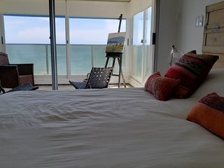 Tunquelen Oceanfront 4 BR+ 3BA Clean Apt . Amazing views