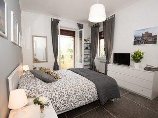 Appartamento Luminoso con vista su Villa Ada