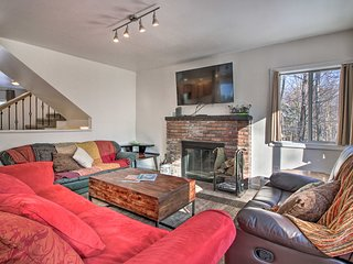 NEW! Stylish Killington House - 3 Miles to Skiing!