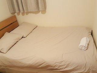 Shared 4 bedroom flat.