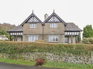 BISHOP HOW, stone-built cottage, country views, in Sawrey