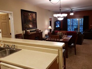 New Listing!! Golf Course  Condo at Stonebridge. Two Master Suites. Very near Si