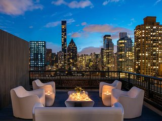 Midtown Manhattan Two Bed, Two Bath, Duplex Penthouse with breathtaking views