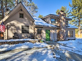 NEW! Big Bear Lake Escape w/Yard, Walk to the Lake