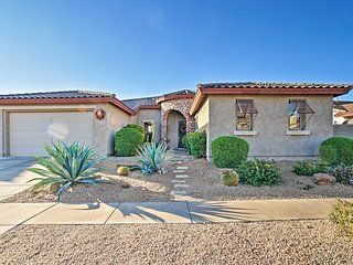 NEW! Phoenix Desert Haven w/ Pool, Hot Tub + Yard!