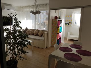Coin cosy de 55 m2 au coeur de Marseille avec clim et terrasse sur jardin