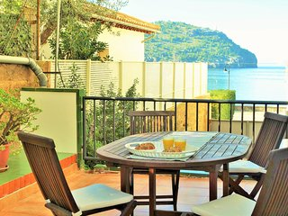 Soller Port Apartment, 60 m to the sea, big private terrace with barbecue.