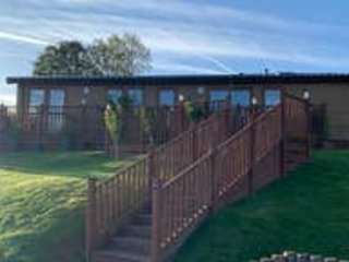 Luxury 5* lodge in the beautiful Devon countryside