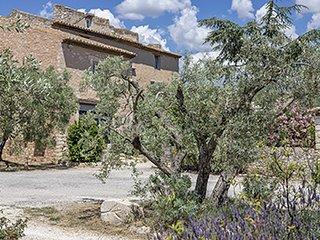 Le Mistral : lumineux et agréable studio dans vieux Mas Provençal