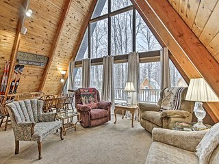 NEW! Ski-In/Ski-Out Whitecap Mtn Chalet +Fireplace