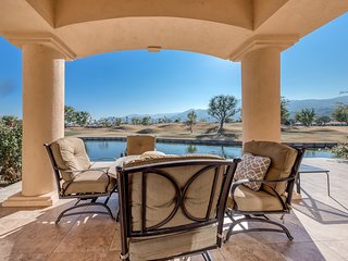 Beautiful dog-friendly home w/ golf course views, shared pool, & private grill!
