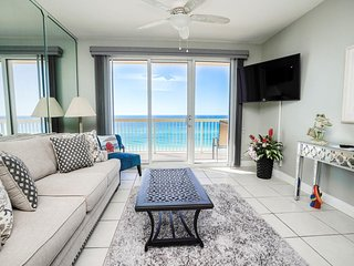 Calypso Beach Resort Rental 705E | Walk to Pier Park | Beachfront Condo