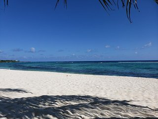 Seaing Spotts Coral Bay Village Beachfront Rental Grand Cayman