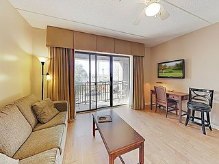 Condo w/ Private Balcony & Lovely River Views in Walkable Locale
