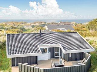 Nice home in Lokken w/ Sauna, WiFi and 4 Bedrooms (D7898)