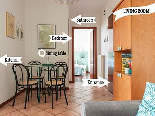 Apartment in Perugia near Train Station and Minimetro