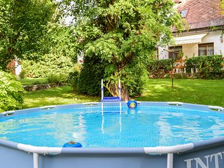 Awesome home in Horni Lanov w/ WiFi, 4 Bedrooms and Outdoor swimming pool (TBG63