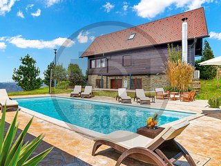 Stunning home in Bedenica w/ Outdoor swimming pool, Jacuzzi and Sauna (CCC153)