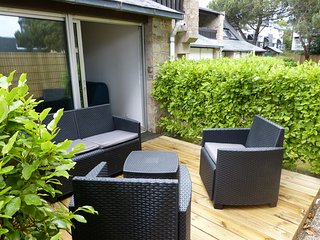 Studio proche Thalasso avec agréable terrasse