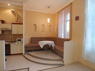 One bedroom 11 Pushkinska St Centre of Kiev