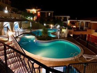 Villino vista piscina