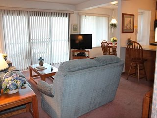 Lovely 2 bed 2 bath Condo! Amazing panoramic lake view. Close to Pool. Private.