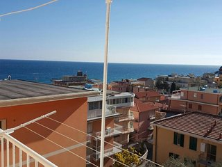 Colla Micheri Apartment Sleeps 3 with Air Con - 5826981